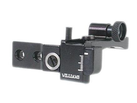 Williams 5D-RU Receiver Peep Sight 44 Ruger Carbine, 10/22 (all models) Including 10/22 Mag Aluminum Black