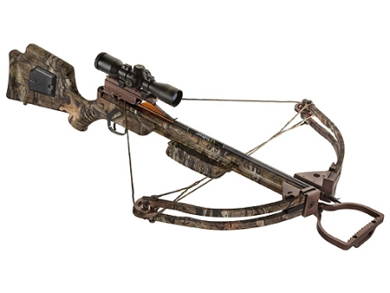 TenPoint Maverick HP Crossbow Package with 3x Pro-View Scope Mossy Oak Break-Up Infinity Camo