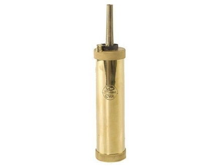 CVA Range Model Flask with 30 Grain Spout Brass 5 oz