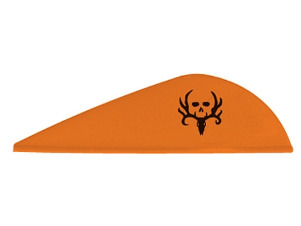 "NAP Quickspin Bone Collector Arrow Fletching 2"" Orange Pack of 36"