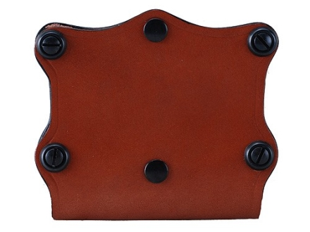 Hunter 5601 Pro-Hide Double Magazine Pouch Open Top Double-Stack Magazine Leather Brown