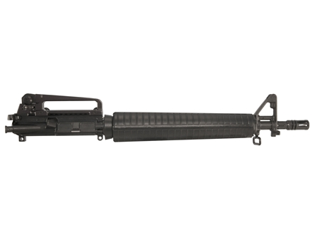 "Bushmaster AR-15 A3 Flat-Top Upper Assembly 5.56x45mm NATO 1 in 9"" Twist 16"" Barrel Chrome Lined Chrome Moly Matte with A2 Front Sight, Flash Hider"