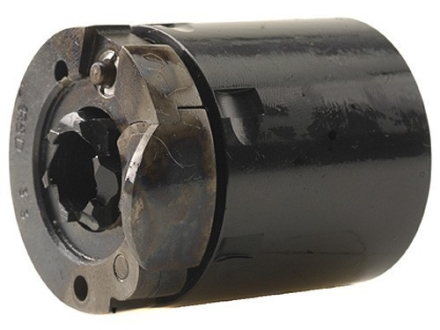 Howell Old West Conversions Gated Conversion Cylinder 36 Caliber Pietta 1851 or 1861 Navy Steel Frame Black Powder Revolver 38 Colt (Long Colt) 6-Round Blue