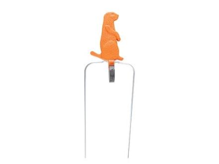 "Champion Duraseal Swinging Prairie Dog Reactive Target 5-1/2"" Ballistic Polymer Orange"