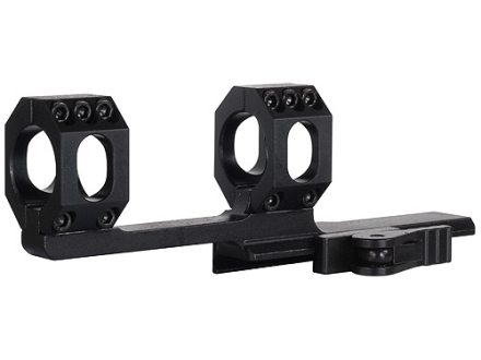 "American Defense Scout-X Quick-Release Extra-Extended Scope Mount Picatinny-Style with 1"" Rings AR-15 Flat-Top Matte"