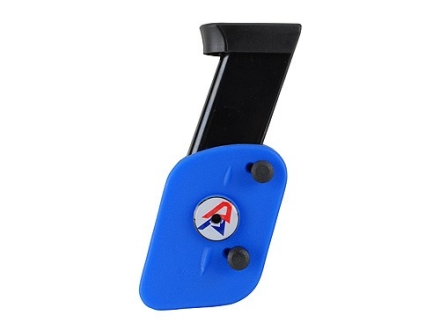 Double-Alpha Single Adjustable Magazine Pouch Ambidextrious for Double-Stack Magazines Polymer Blue