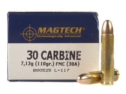 Magtech Sport Ammunition 30 Carbine 110 Grain Full Metal Jacket