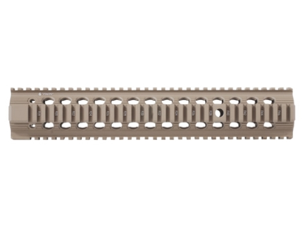 "Troy Industries 13"" Bravo Battle Rail Free Float Quad Rail Handguard AR-15 Flat Dark Earth"