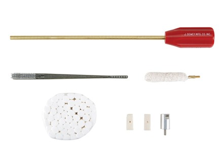 Dewey Rifle Lug Recess Cleaning Kit with Cleaning Rod Bolt Action
