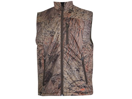APX Men's L3 Lightning Primaloft Vest Polyester Mossy Oak Brush Camo 2XL 50-52