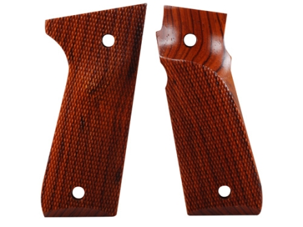 Majestic Arms Target Grips Ruger Mark III 22/45 RP with Right Hand Thumbrest A-Grade Walnut