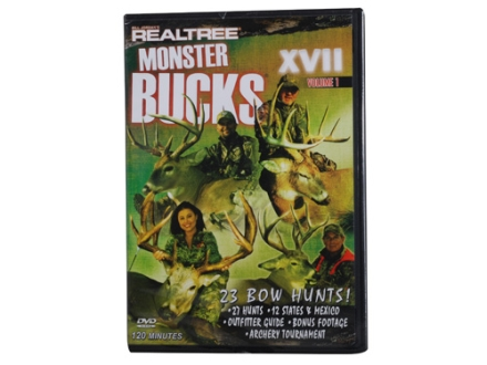 Realtree Monster Bucks 17 Volume 1 Video DVD