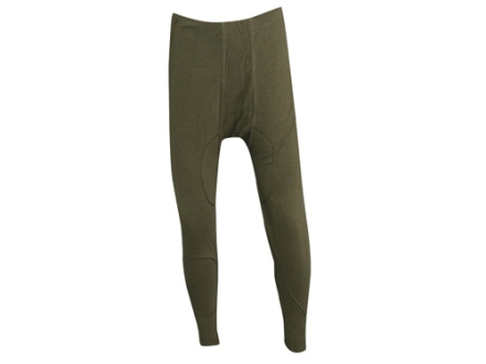 Military Surplus New Condition German Long John Pants Olive Drab Medium