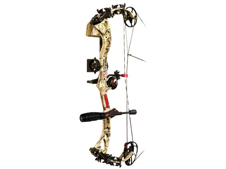 "PSE Bow Madness XS RTS Compound Bow Package Right Hand 50-60 lb. 25""-30"" Draw Length Mossy Oak Break Up Infinity Camo"