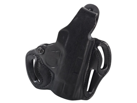 DeSantis Thumb Break Scabbard Belt Holster Right Hand Smith & Wesson M&P Shield Leather Black