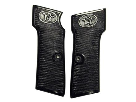 Vintage Gun Grips Walther #6 9mm Luger Polymer Black