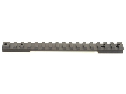 Warne 1-Piece Tactical Picatinny-Style Scope Base Savage 110 Through 116 Flat Rear Long Action Matte