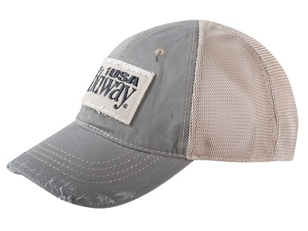 MidwayUSA Mesh Back Cap Cotton Distressed Front
