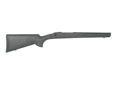 Hogue Rubber OverMolded Rifle Stock Remington 700 BDL Short Action Varmint Barrel Channel Full Bed Synthetic Black
