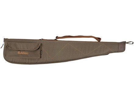 "Allen Classic Shotgun Case 52"" Quilted Canvas Green"
