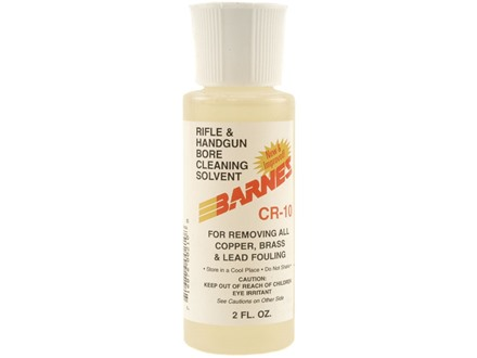 Barnes CR-10 Copper Bore Cleaning Solvent 2 oz Liquid