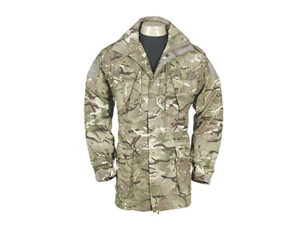 Military Surplus British Combat Smock Multi-Terrain Pattern Camo M