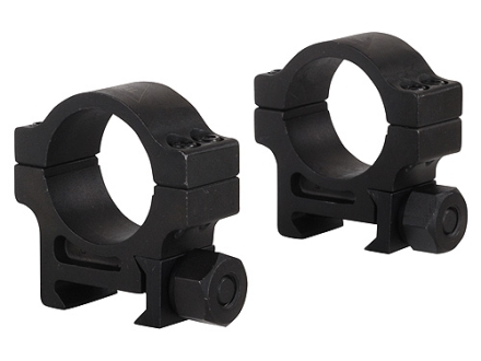 "Trijicon 1"" Accupoint Steel Picatinny-Style Rings Matte Medium"