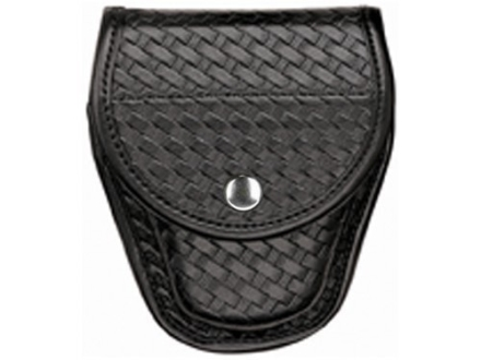 Bianchi 7900 AccuMold Elite Covered Cuff Case Basketweave Trilaminate Black