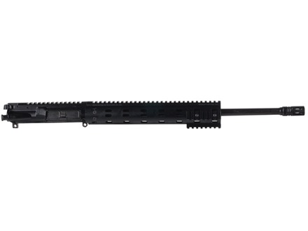 "Daniel Defense AR-15 DDM4v7 A3 Flat-Top Upper Assembly 6.8mm Remington SPC II 1 in 11"" Twist 18"" S2W Barrel Black Nitride Finish with MFR 12.0 Modular Rail Free Float Handguard, Flash Hider"