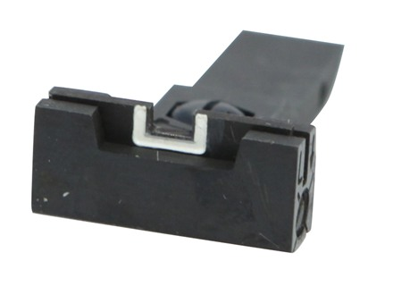 Kensight Adjustable Rear Sight Elliason Cut Steel Black Accro-Style Square Blade with White Outline