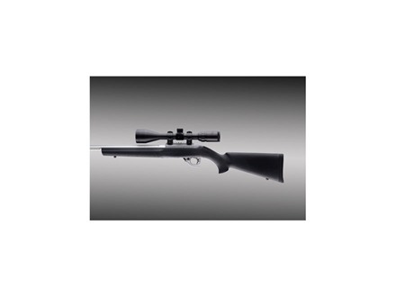 Hogue OverMolded Rifle Stock Ruger 10/22 Standard Barrel Channel
