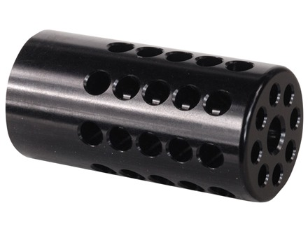 Tactical Solutions Compensator for Pac-Lite Barrels Ruger Mark I, Mark II, Mark III, 22/45 Aluminum Black
