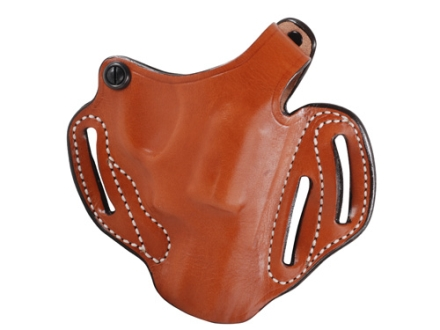 "DeSantis Thumb Break Scabbard Belt Holster Right Hand Ruger SP101 2-1/4"" Leather Tan"