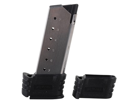Springfield Armory Magazine Springfield XDS 45 ACP 7-Round Stainless Steel with Backstrap 1 and 2