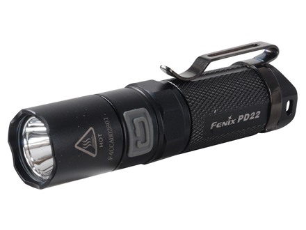 Fenix PD22 Flashlight White LED Aluminum Black