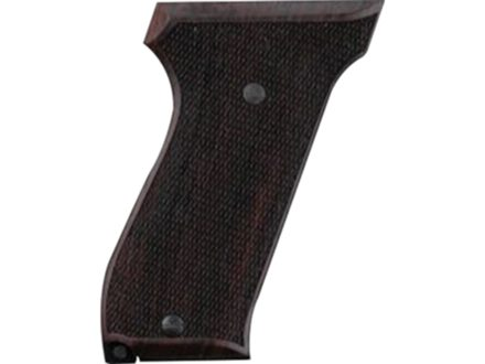 Hogue Fancy Hardwood Grips S&W 39, 52, 439, 539 and 639 Checkered Rosewood