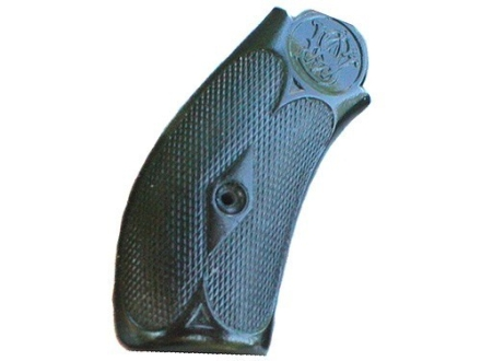 Vintage Gun Grips S&W New #3 Break Top K-Frame Round Butt 44 Caliber Polymer Black