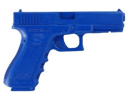 BlueGuns Firearm Simulator Glock 17, 22, 31 Polyurethane Blue