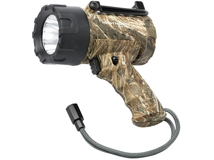 Browning High Noon Dirty Bird Spotlight LED requires 3 C Batteries Polymer Mossy Oak Duck Blind Camo