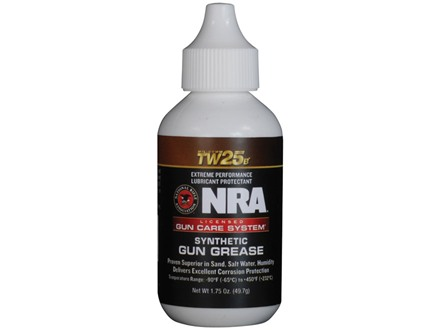 NRA Licensed Gun Care System By Mil-Comm TW25B Gun Grease 1-3/4 oz Bottle