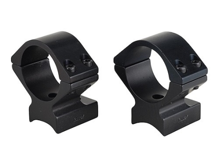"Talley Lightweight 2-Piece Scope Mounts with Integral 1"" Rings Anschutz Matte Low"