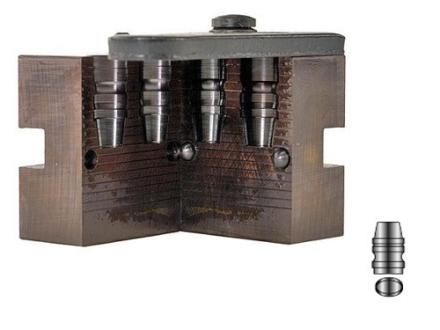 Lyman 2-Cavity Bullet Mold #410610 41 Magnum (410 Diameter) 215 Grain Semi-Wadcutter Gas Check