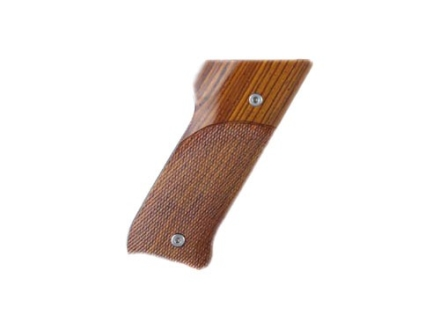 Hogue Fancy Hardwood Grips Ruger Mark II Checkered Cocobolo