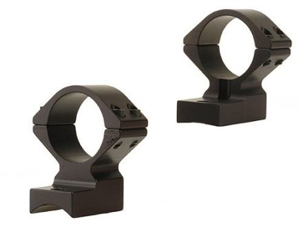 "Talley Lightweight 2-Piece Scope Mounts with Integral 1"" Rings Weatherby Lightweight Matte Medium"
