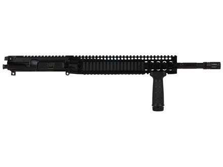 "Daniel Defense AR-15 DDM4v5 A3 Flat-Top Upper Assembly 300 AAC Blackout 1 in 8"" Twist 16"" S2W Barrel Black Nitride Finish with DDM4 12.0 Quad Rail Free Float Handguard, Flash Hider"