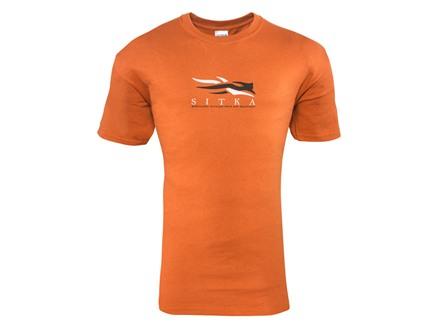 Sitka Gear Men's Alaska Word Map Short Sleeve Shirt Cotton