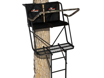 Big Game The Big Buddy Double Ladder Treestand Steel Black