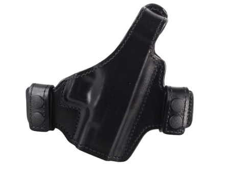 Bianchi Allusion Series 130 Classified Outside the Waistband Holster Right Hand Glock 26, 27, 33 Leather Black