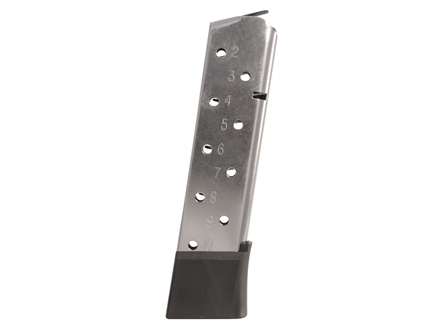 Kimber Magazine 1911 Government, Commander 45 ACP 10-Round Stainless Steel