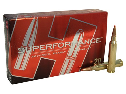 Hornady SUPERFORMANCE Ammunition 7mm Remington Magnum 139 Grain SST Box of 20